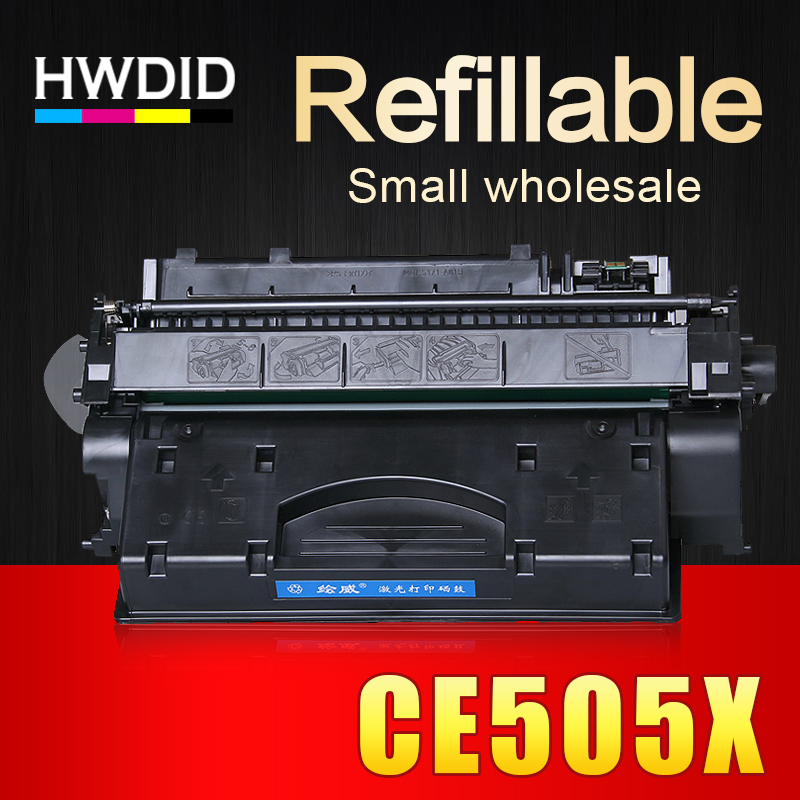 Voll nachfüllbare CE505X 505 505X 05X kompatibel tonerkartusche für HP P2035 P2035N...