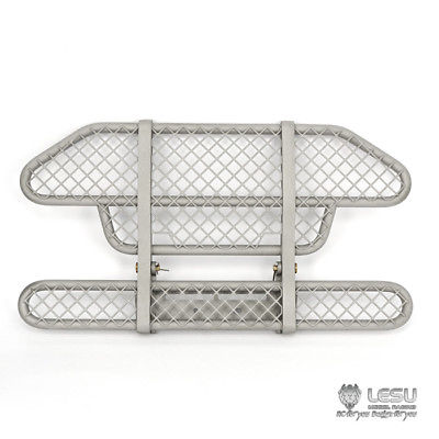 LESU Metal Front Bumper C1 Model Tamiya SCANIA R620 R470 RC 1/14 Tractor Truck jd 70 1 14 model truck v5 version front wide wheel