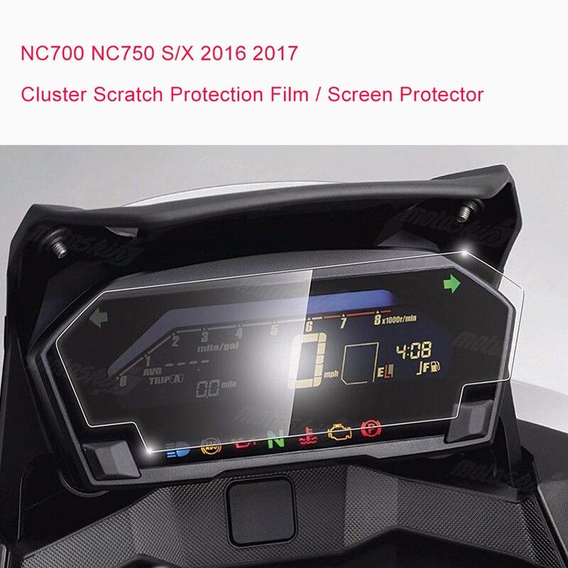 2016 2017 NC700S NC700X NC750S NC750X Cluster Scratch Protection Film Screen Protector For Honda NC700 NC750 S/X 2016 2017