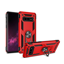 купить Heavy Duty Armor Cover for Samsung Galaxy S8 S9 S10 Plus Case Shockproof Kickstand Hybrid Case for Samsung Note 8 9 Case Coque по цене 246.17 рублей
