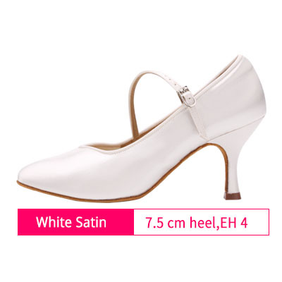 b9b842cd46 Women Standard Dance Shoes BD 138 ClASSIC Fresh Tan Satin High Low Heel  Ladies Ballroom Dance Shoes Soft Outsole Modern Dance
