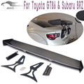For 86 GT86 BRZ Carbon Fiber Rear spoiler For Toyota 86 GT86 Subaru BRZ car trunk lip wing
