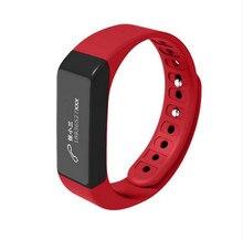 2017 Unique i5 Plus Sensible Bracelet i5plus Wristband Bluetooth four.zero Exercise Tracker SmartBand Passometer Sleep Monitor