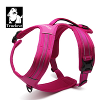 Truelove Sport Nylon Reflective No Pull Dog Harness Outdoor Adventure Pet Vest with Handle Size XS to XL 5 colors