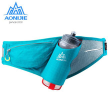 AONIJIE Marathon Running Holder Belt Reflective Sports Bags Free Accessories Nylon Waist Pack