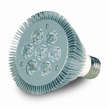 7*1W LED Par light;PAR30 base;120mm*138mm;630lm;RGB color;P/N:CMR-E27PAR30-0207