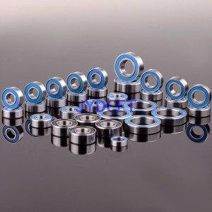 Image 1 - Blu Cuscinetto A Sfere 33PCS KIT Metric Gomma Sigillato su Due Lati RC Auto Per RC Traxxas E Revo da corsa 52100 In Acciaio Cromato
