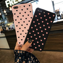 Heart Mobile Phone Case for iPhone 6 6s Plus 7 8 Plus 5 5s SE X XR XS Max Love Element Style Case for Girls Female Back Cover(China)