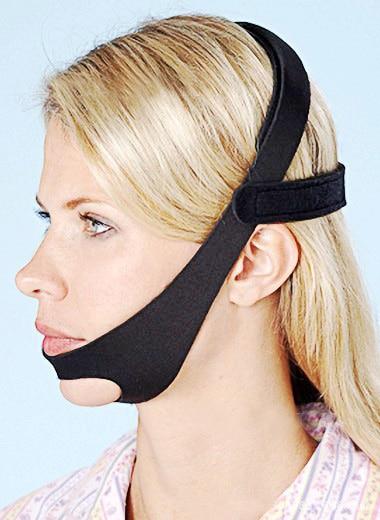 Justerbar Anti Snarkning Halsband Snore Shield Snore Relief Jaw Support Stopp Snarkning Lösning För Män Och Kvinnor T131OLE