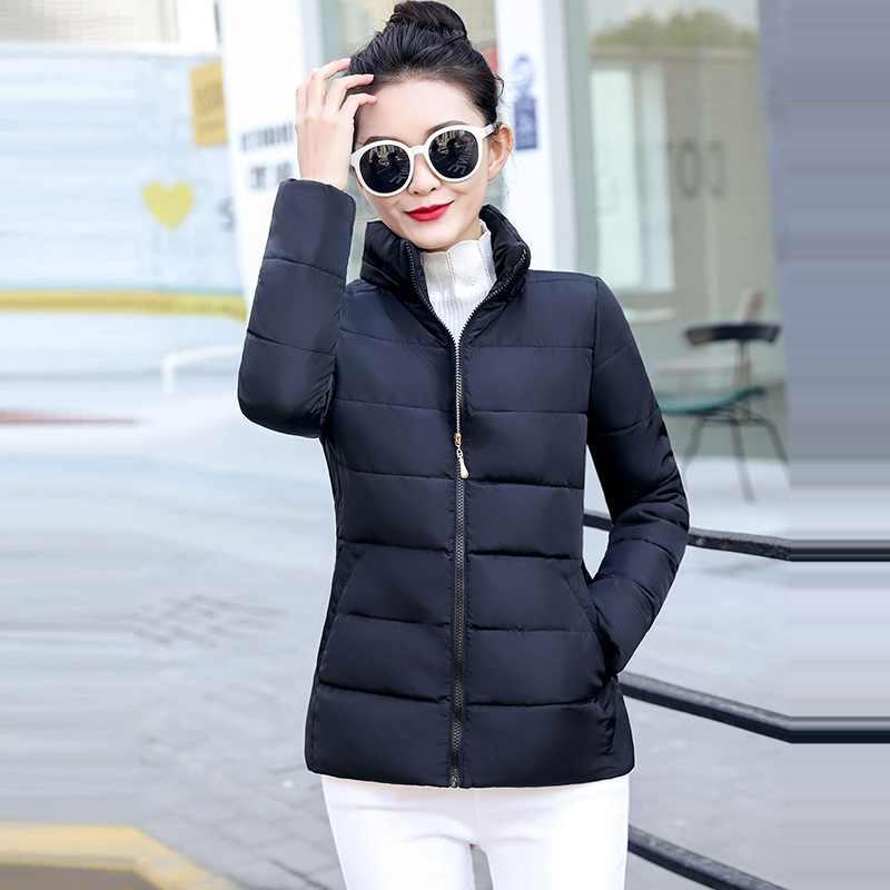 Nieuwe Jacks 2019 Mode Wijn Rode Parka Hooded Winter Jas Vrouwen Winterjas Vrouwen Rits Uitloper Herfst Vrouwelijke jas