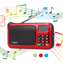 Portable Mini Radio FM Speaker USB Mp3 Music Player Support TF Card with LED Display HiFi Stereo Receiver Digital Radio Receiver mini portable fm radio stereo speaker mp3 music player double loudspeaker with tf card usb disk input gift for parents