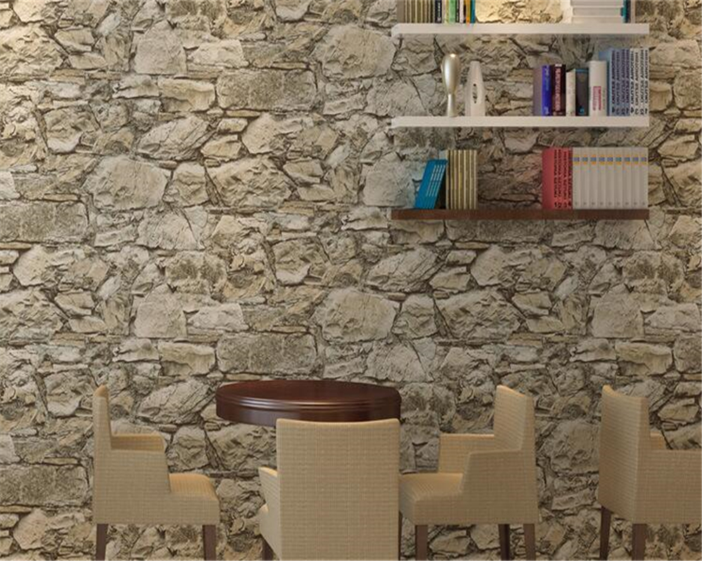 beibehang Retro Chinese Culture Brick Wallpaper Barber Shop Clothing Store Hotel Restaurant KTV Fashion Simple Wall 3d wallpaper beibehang 3d brick wallpapers antique brick brick wallpaper chinese nostalgia restaurant hotel backdrop retro vintage wallpaper