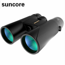 Best price Suncore 12×42 Binoculo Power Binoculars Professional Waterproof Zoom Telescope Spotting Scope Military Outdoor BAK4 High Quality