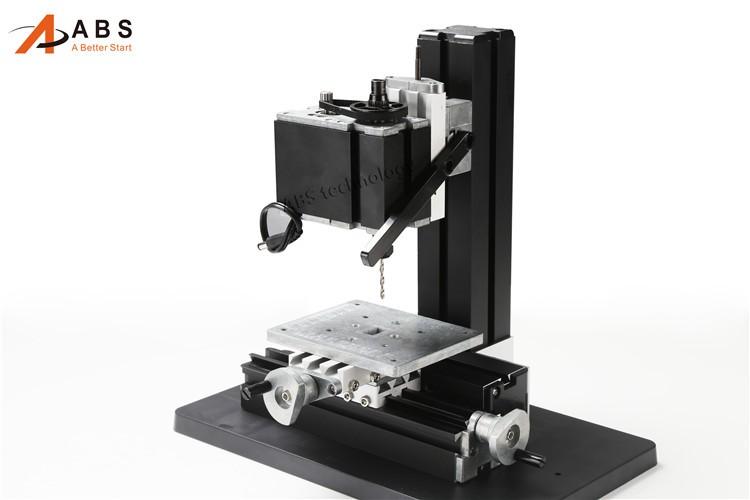 12000rmin 60W,All-Metal 8 in 1,Milling ,Drilling ,Wood Turning,Jag,Saw,Sanding Mini Lathe Machine,for DIY work tool (4)