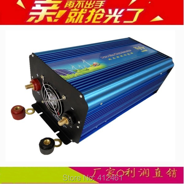 DC AC inverter 5000W pure sine wave inverter peak power 5000W 12V 220V or 12V 230V 5000W inverter a onda sinusoidale