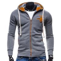 College Baseball Hoodies Men Sudaderas Hombre Hip Hop Mens Sportswear Jacket Brand Sweatshirt Slim Fit Men