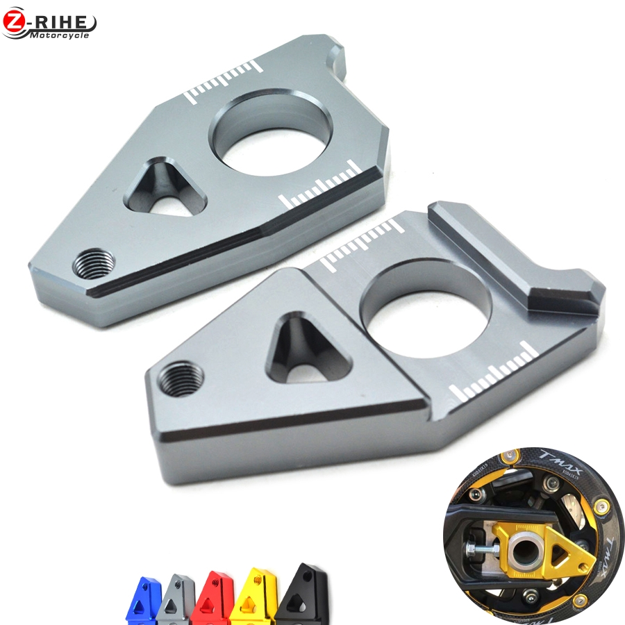 CNC Aluminum Motorcycle chain adjuster tensioners Adjuster chain for T-MAX 530 530 Yamaha TMAX 500 YZF R1 2012-2015 FZ1 FZ8 2013 hot sale motorcycle t max cnc aluminum