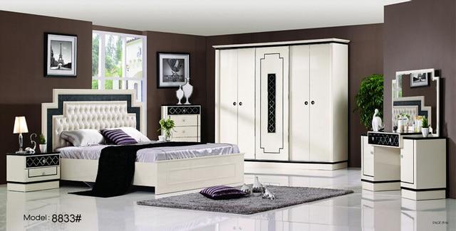 Acheter moveis par quarto table de chevet for Set de chambre bois massif