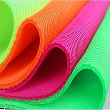 360g/m Sandwich mesh fabric three layer elastic net cloth shoes clothing chair, car seat cover bags 155cm