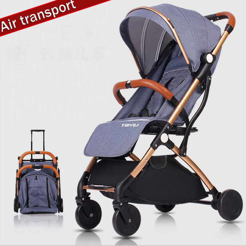 Baby stroller ultra light folding portable with mini umbrella suitable for 0-3 years old baby, suitable for newborns, air transpBaby stroller ultra light folding portable with mini umbrella suitable for 0-3 years old baby, suitable for newborns, air transp