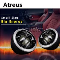 Atreus 1Pair Universal Automobiles Audio Speaker Tweeter TS 160A 25mm Silk Membrane Treble For Suzuki Swift Grand Vitara Fiat