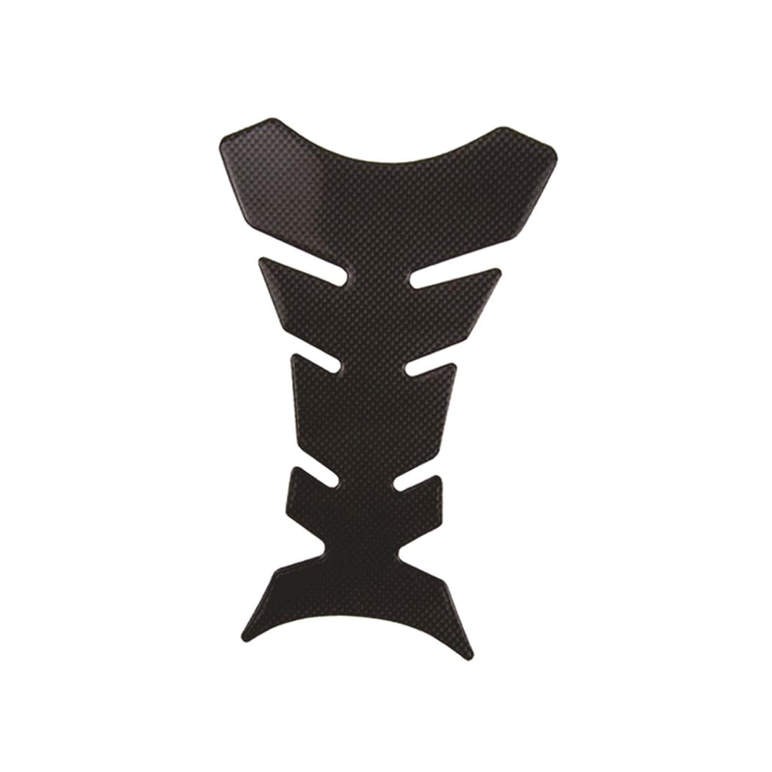 Dewtreetali Carbon Fiber 3D Motorcycle Tank Pad Protector Sticker For Honda kawasaki yamaha suzuki bmw Universal Fishbone