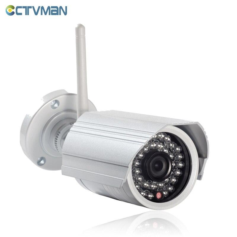 CTVMAN Onvif IP Camera WIFI Surveillance 720p 1080P HD Outdoor Wireless Security CCTV Cam Wi-fi SD Card Slot P2P Bullet Kamera