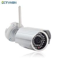 CTVMAN Onvif IP Camera WIFI Surveillance 720p 1080P HD Outdoor Wireless Security CCTV Cam Wi fi SD Card Slot P2P Bullet Kamera