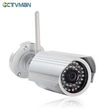 CTVMAN Onvif ip-камера WI-FI Мегапиксельная 720 P 1080 P HD Открытый беспроводной Безопасности CCTV Камеры Ик Слот Для Карты SD P2P Пуля Kamera