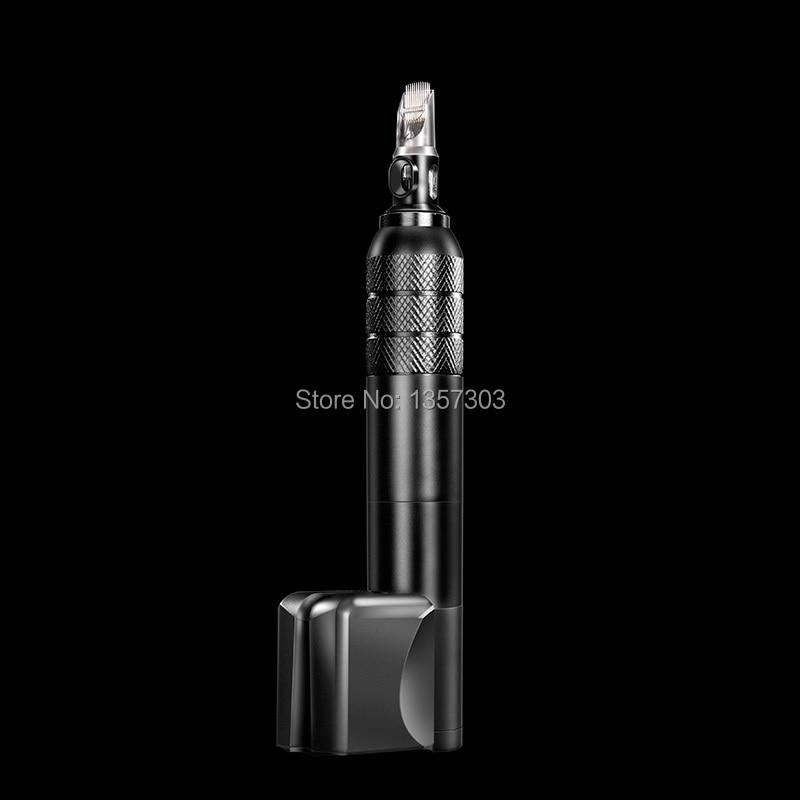 2018 Newest X6 Wireless Rechargeable Cartridges needles Rotary Tattoo Pen Tattoo Machine B0 in Tattoo Guns from Beauty Health