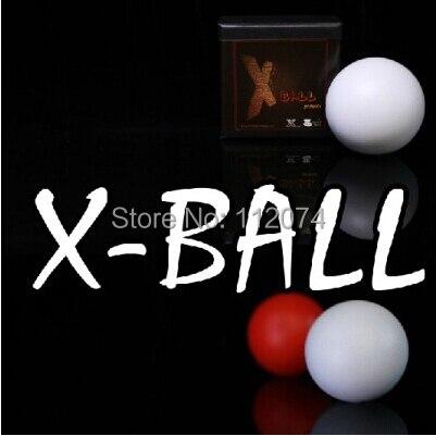 ФОТО 2014 X-Ball (white/red)- magic Trick,ball magic,stage magic,magic accessories props