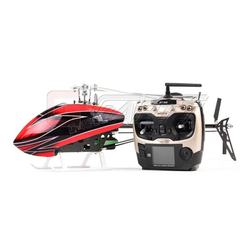 Oyuncaklar ve Hobi Ürünleri'ten RC Helikopterler'de JCZK 6CH Akıllı 450L RC Helikopter RTF Helikopter GPS Fırçasız Uçak AT9S 6CH Tek Pervane Aileronless Drone Modeli Oyuncak'da  Grup 3