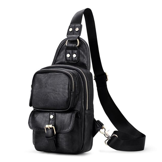 4c5bb1c02c Sac à main multi poche sac à bandoulière pour hommes pack de poitrine sac  de voyage