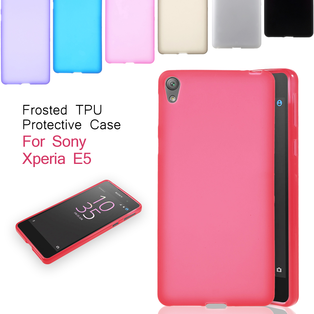 official photos 560e7 c2dd8 US $1.39 |Aliexpress.com : Buy Dulcii For Sony Xperia E 5 Phone Cover  Frosted TPU Case for Sony Xperia E5 from Reliable tpu case suppliers on TVC  ...