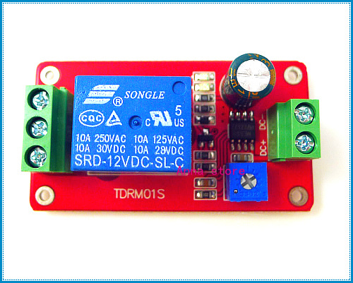 Dc 12v Volt Delay Timer Switch Adjustable Relay Module 0 To 20 Second Ne555