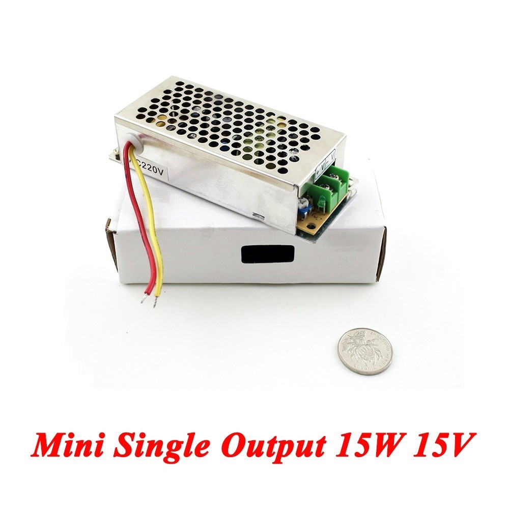 MS-15-15 Mini Type ac-dc power supply 15W 15V 1A,Single Output for Led Driver,smps power supply 110V/220V to 15V ms 120 15 120w 15v 8a single output mini size led switching power supply transformer ac to dc