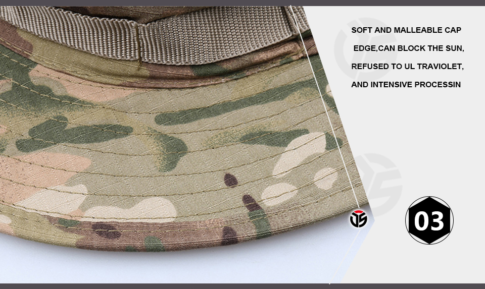 HTB1HIFGXe3tHKVjSZSgq6x4QFXaK - Multicam Tactical Airsoft Sniper Camouflage Bucket Boonie Hats Nepalese Cap SWAT Army Panama Military Accessories Summer Men