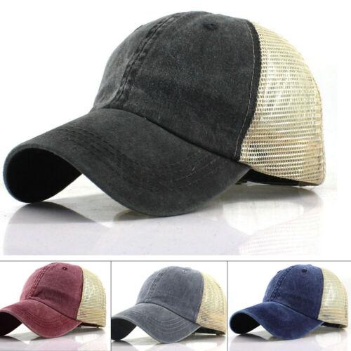 Cap Snapback Sports-Hats Baseball-Ball Adjustable Plain Unisex Fashion Women Washed Outdoor