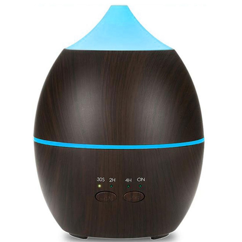 300Ml Aroma Air Diffuser Wood Ultrasonic Air Humidifier Essential Oil Aromatherapy Cool Mist Maker For Home Us Plug300Ml Aroma Air Diffuser Wood Ultrasonic Air Humidifier Essential Oil Aromatherapy Cool Mist Maker For Home Us Plug