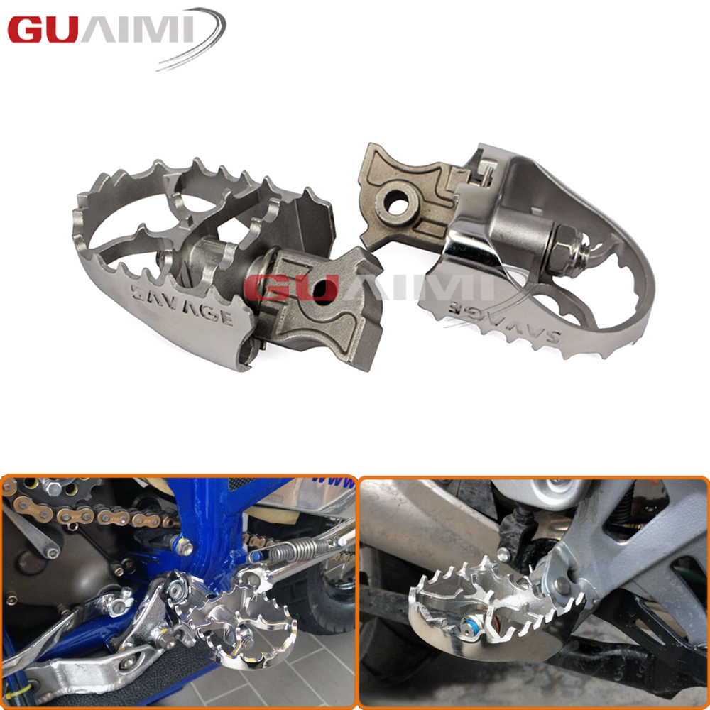 For BMW R1200GS LC/R1200GS LC Adventure 2014-2016 Motorcycle Wide Enduro Foot Pegs Tilt Angle Adjustable Footpegs morais r the hundred foot journey