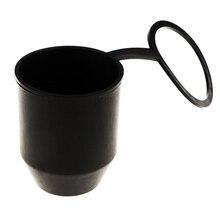 Черная буксировочная крышка шарика Кепка буксировка автомобиля сцепка буксировщик трейлер Защитная крышка NR