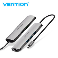 Vention USB HUB Type C HUB To USB 3 0 With PD Power HDMI 3 5mm