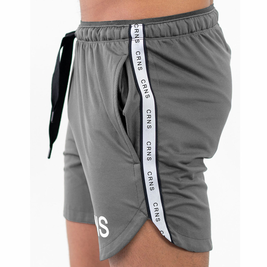 Bodybuilding Shorts Sweatpants-Bottoms Gyms Fitness Workout Male Breathable Beach Mens