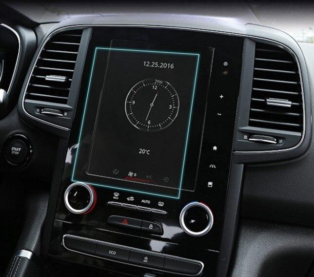 8.7 pouce Voiture Trempé Verre GPS Navigation Écran Garde De Protection Film LCD Écran Autocollant Pour Renault Koleos 2017