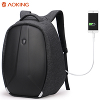 Aoking 2017 New Unique Design Men S Backpacks Anti Thief Mochila For Laptop 16 Inch Notebook