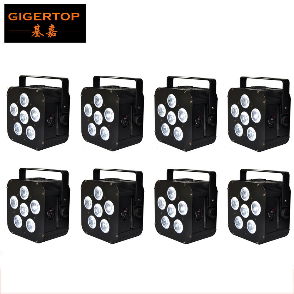 Freeshipping 8XLOT 6X18W Battery Powered Wireless Rechargeable 6IN1 LED Par can Light 110W Infrared Uplight CE ROHS Tianxin LedsFreeshipping 8XLOT 6X18W Battery Powered Wireless Rechargeable 6IN1 LED Par can Light 110W Infrared Uplight CE ROHS Tianxin Leds