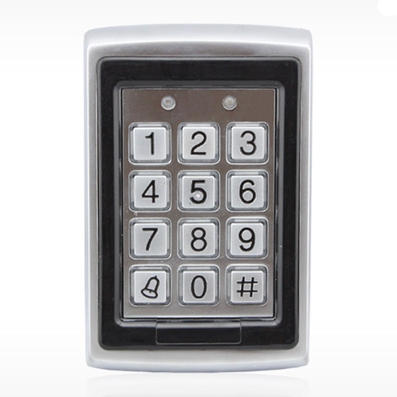 Rain-proof 1000 User Metal ID Card & Password Door Access Control монитор 19 hp v196 черный tft tn 1366x768 200 cd m^2 5 ms dvi vga