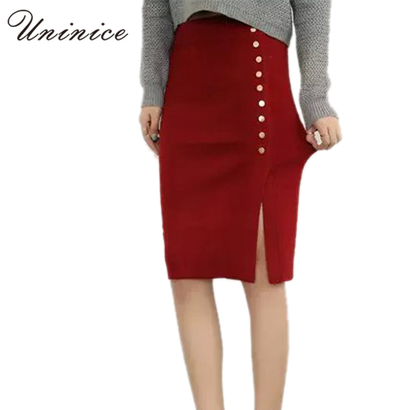 Popular Red Pencil Skirts for Women-Buy Cheap Red Pencil Skirts ...