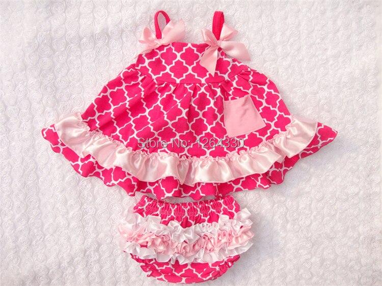 Venda quente Do Bebê Balançar Para Trás Set Top Moda Infantil rosa quente    Conjunto Roupa Da Criança Do Bebê Balançar Para Trás Set Top KP-SW038 469a073a6b