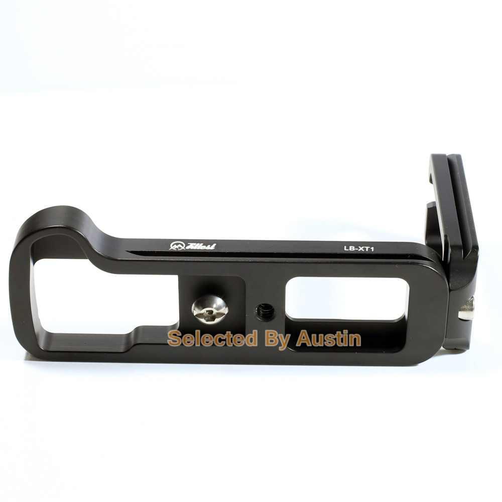 Fittes быстрый выпуск QR вертикальный l-образный пластинчатый кронштейн-держатель для цифровой фотокамеры Fuji Fujifilm X-T1 XT1 Arca Swiss шаровая Головка штатива приспособленных